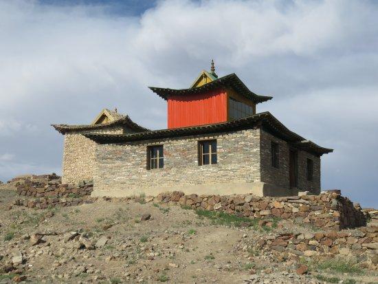 Saikhan-Ovoo, Mongolia: ongi temple