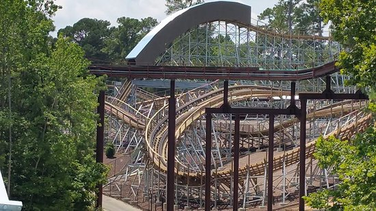 Invadr The New Wooden Coaster For 2017 Picture Of Busch Gardens Williamsburg Williamsburg