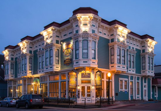 Victorian Inn was crafted from local California Redwood. Romantic elegance and modern comfort ab