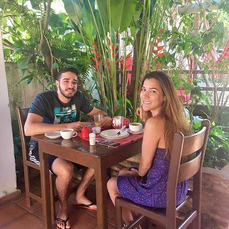 Pousada Atlantis: Breakfast at Pousada Alantis