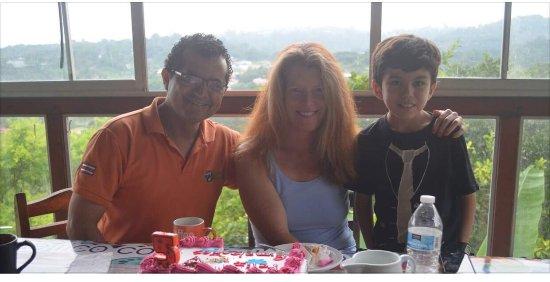 Naranjo, Costa Rica: Wilson, Lena, Leo