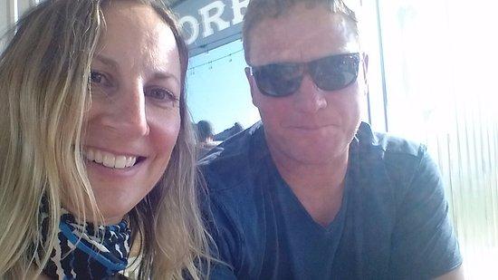 Okotoks, Kanada: Riders on a date