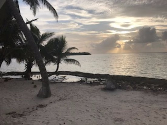Turneffe Island, Belize: View from Beachhouse deck