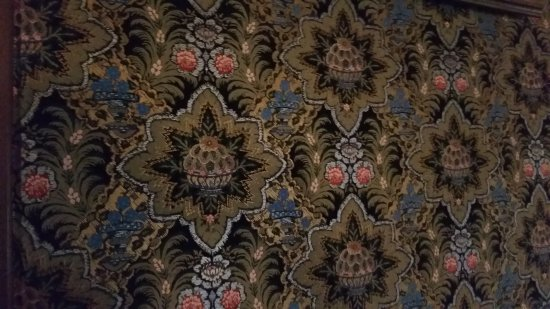 Olana State Historic Site: close up of wallpaper