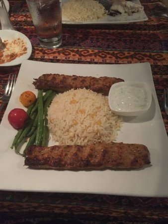Agoura Hills, CA: Ground Chicken Kabobs