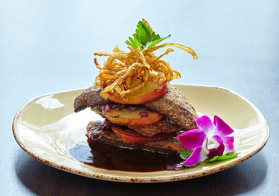 Holiday Inn Luebeck: Veal Liver & Apple Slice