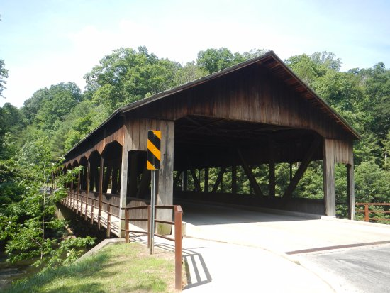 Mohican State Park: The covered Bridge