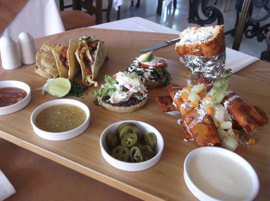 Salamanca, Meksika: Breakfast Menu