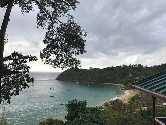 Castara Retreats: Spectacular view