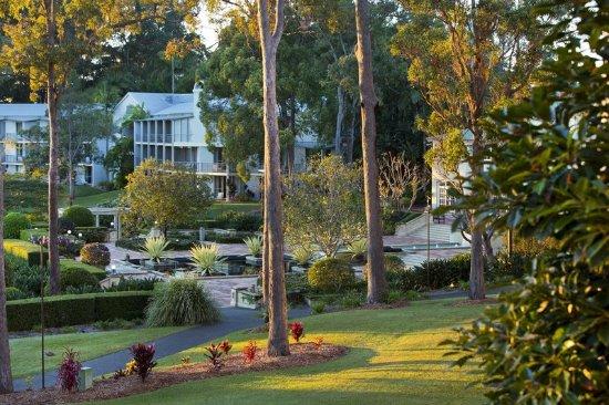 Hope Island, Australia: View from Hotel