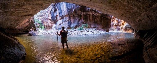 Springdale, UT: The Narrows is an absolute MUST see/hike!