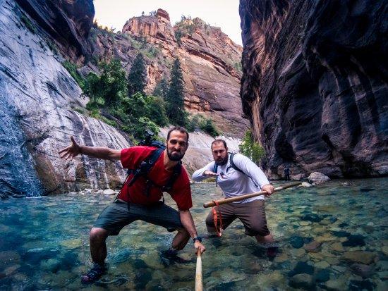 Springdale, UT: Zion Guru gear + adventure attitude= epic experience!