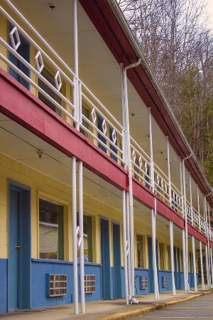Pineville, Virginia Occidentale: Cow Shed Motel & Restaurant