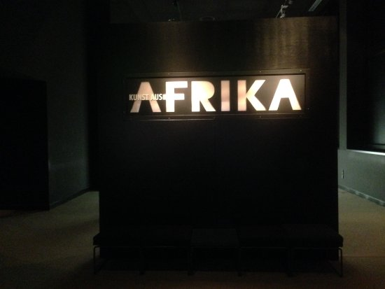 Museum of Ethnology: Entrance leads to its African collection
