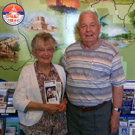 Nogales, AZ: A special thank to this full of life couple from Colorado who stopped by!