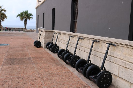 Segway Tours of Puerto Rico: so many oppertuninties to get off and explore more by foot too