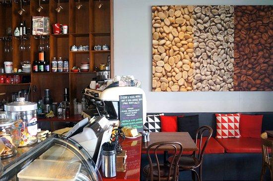 Leichhardt, Australia: Grumpy Bean Cafe