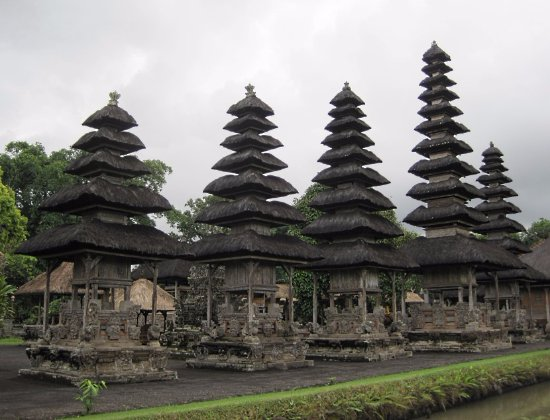 Mengwi, Indonesia: 独特の建築様式2