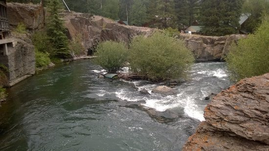 Lake City, CO: This waterway runs on the property, and fishing is allowed without a license.