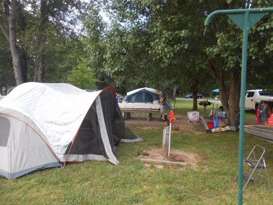 Natural Falls State Park: Tent Camping Area