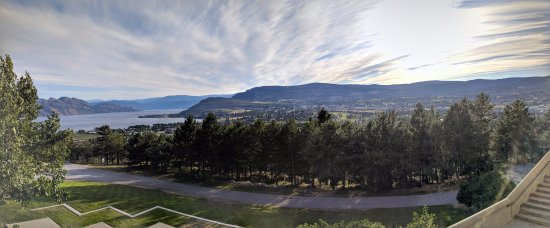 West Kelowna, Canada: a view from Mission Hill