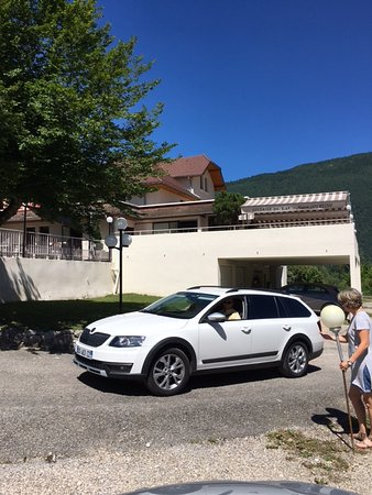 Saint-Alban-de-Montbel, Frankrijk: super terrasse