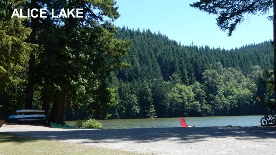 Alice Lake Provincial Park: The Lake view, North East side