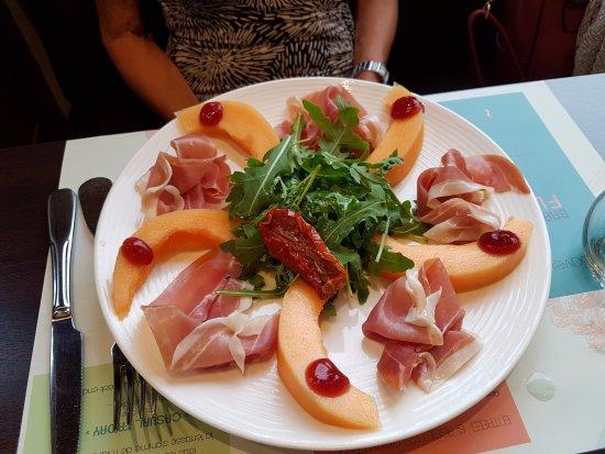 Melon A L Italienne Picture Of La Brasserie Flow Chassieu