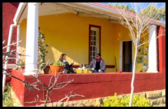 Smithfield, South Africa: Tea and Coffee on the Patio