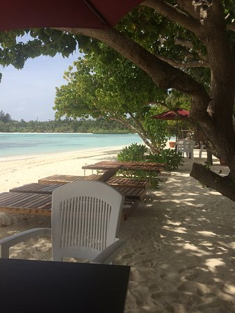 Guraidhoo: Private beach
