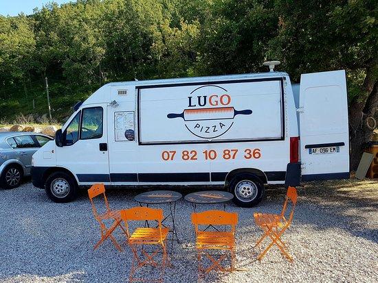 Peypin, France: Notre camion