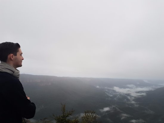 Leura, Australia: sublime lookout in the morning