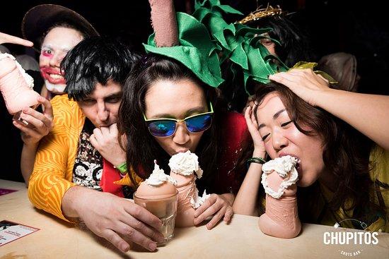 Blowjob Shots Picture Of Chupitos Shots Bar Singapore Tripadvisor