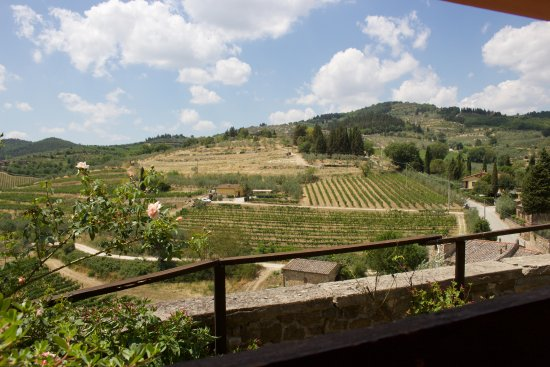 Taverna Del Guerrino : Fabulous views from the eating area.
