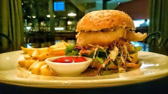Havelock North, นิวซีแลนด์: Fish Burger