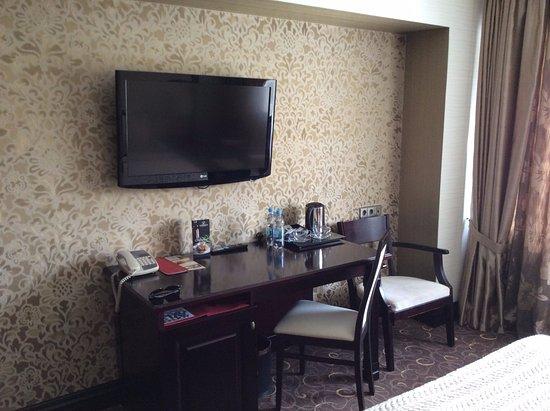 Khreschatyk Hotel: Sitting area