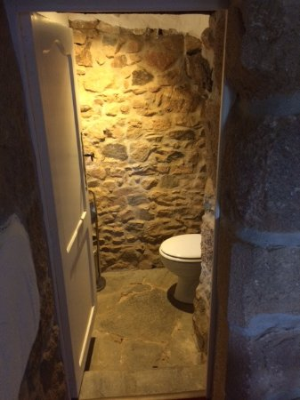 Plougrescant, Франция: Witzige separate Toilette am Zimmer