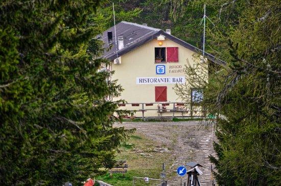 Rifugio F. Allavena: Il rifugio