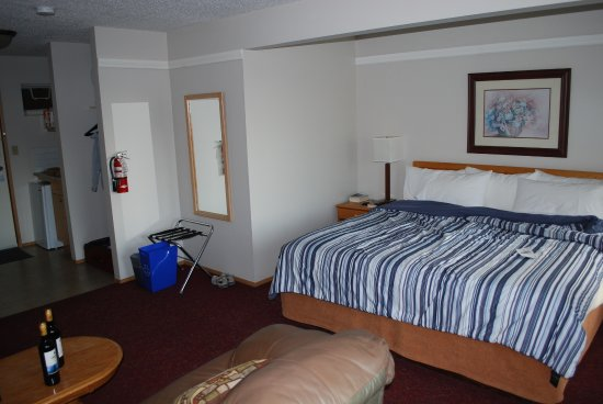 Quathiaski Cove, Canada : Our bedroom