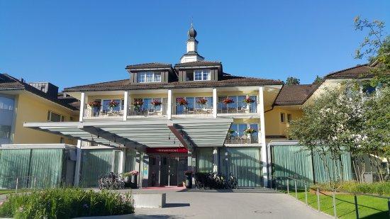 Weissbad, Schweiz: Hoteleingang