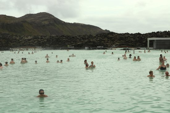 Blue Lagoon Iceland: Silica in the water gives it this colour