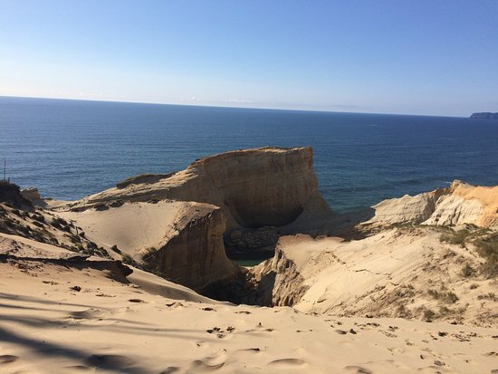 Pacific City, OR: Stunning view when you reach the top of the dune