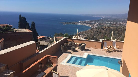 View from hotel - Picture of Villa Le Terrazze Charming Rooms ...