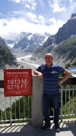 Montenvers - Mer de Glace train: Mer de glace, Chamonix