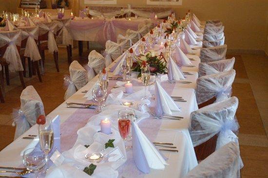 Hradec Kralove, Republik Ceko: výzdoba - svatba