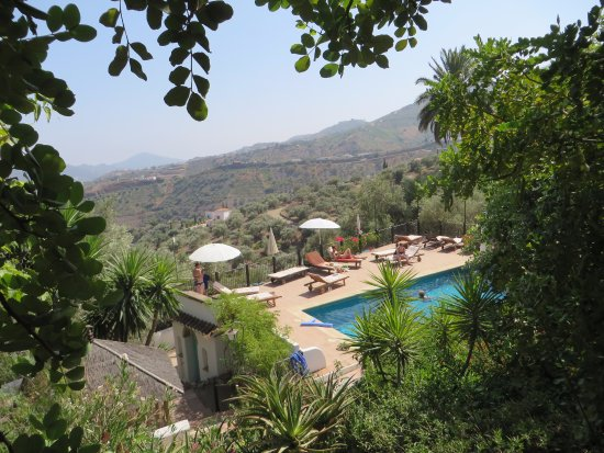 Hotel Finca el Cerrillo: Great pool with shaded terrace