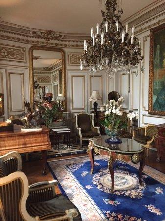 Hotel l'Ecrin: petit salon