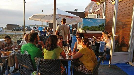 Liencres, İspanya: На террасе