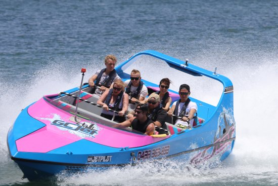 GC Jet Boating: A Photo from the USB Video/photo pack we Bought.
