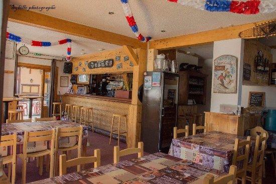 Doucy, France: Blizzard Cafe